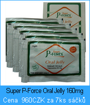 Super P-Force 160mg Oral Jelly