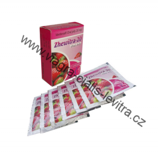 Zhewitra Oral Jelly 20mg